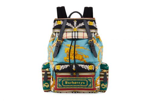 Burberry Assembles More Archive Scarf Designs for This New Backpack
