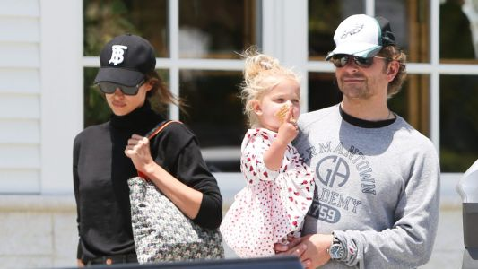 Bradley Cooper And Irina Shayk Enjoy Day Out With Daughter Lea