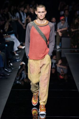 Emporio Armani Finds a Modern Stride with Spring '20 Collection