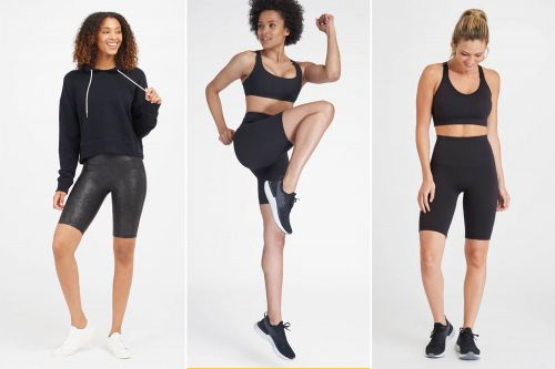 Spanx bike shorts discounted 50% off for flash sale