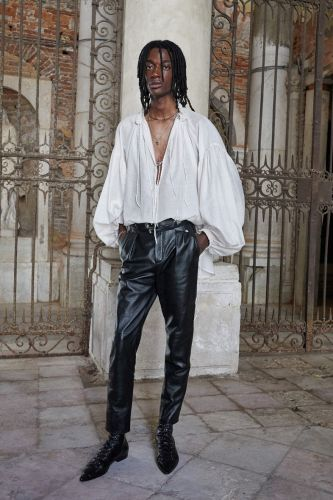 Saint Laurent's New Men's Collection Looks to the House's Couture History