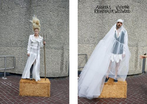 We're Off To The Barbican for the new Vivienne Westwood Campaign