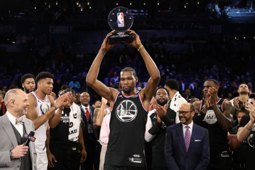 Kevin Durant Named All-Star MVP as Team LeBron Defeat Team Giannis