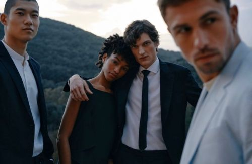 James, Valentin, Babacar & Yun Dress for Special Occasions with BOSS