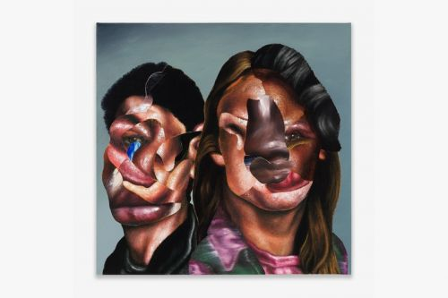 Nathaniel Mary Quinn Brings Deconstructed Portraits to Rhona Hoffman Gallery