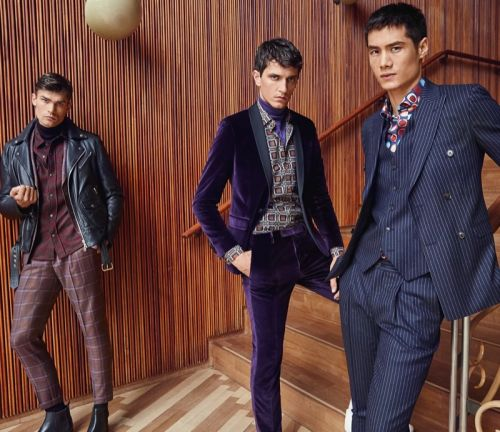 Jakob, Hao & Jon Don Sartorial Style for SAND Fall '19 Campaign