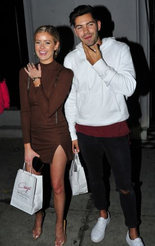 'BIP' Star Hannah Godwin Has Sweet Date Night With Fiance Dylan Barbour and Family at Craig's