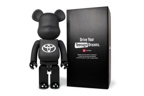 Toyota and Medicom Toy Ready a Minimal BE RBRICK 1000% Release