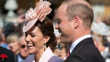 Kate Middleton Is A Vision In Pink At Queen's Royal Garden Party