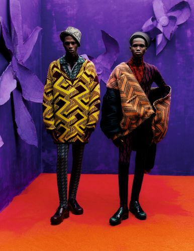 All The Feels: Prada's AW21 Men's Collection is a Journey of the Senses
