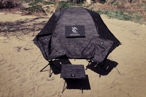 Helinox & White Mountaineering Team for Upgraded Camping Gear