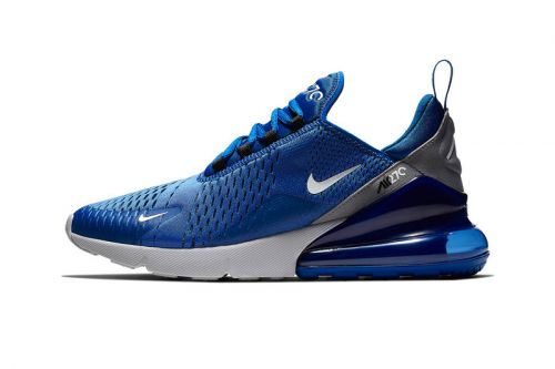 """Nike Gives the Air Max 270 an """"Indigo Force"""" Makeover"""