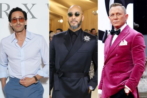 Guy time: The best celebrity watches worn on 2021 red carpets