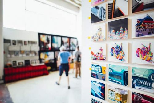 So you want to be an Artist. Top tips on how to get noticed by galleries