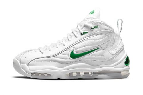 """Official Look at the Nike Air Total Max Uptempo """"White/Green"""""""