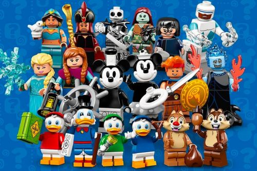 LEGO IDEAS to Release 18 New Disney Minifigures, Ranging from 'Steamboat Willie' to 'Frozen'