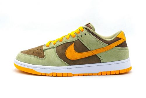 """The """"Ugly Duckling"""" Vibes Are Heavy on This New Olive, Gold and Brown Dunk Low"""