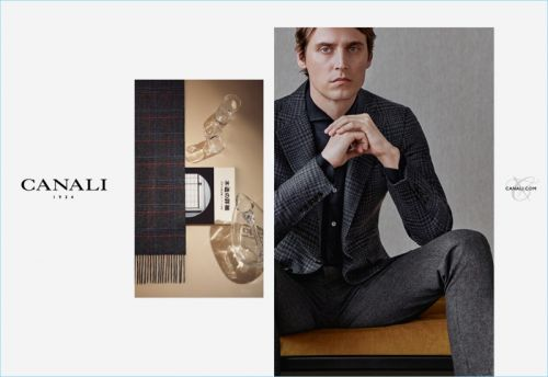 Sébastien Andrieu & Christopher Einla Front Canali Fall '18 Campaign