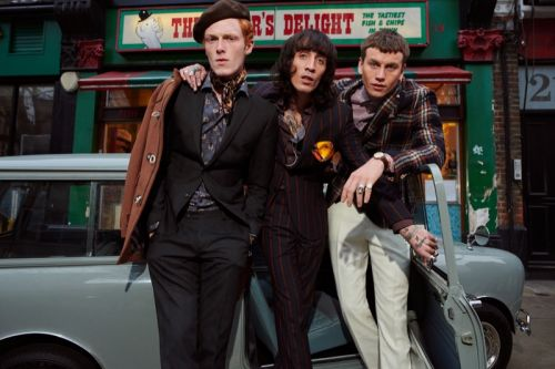 Linus Wordemann, Sid Ellisdon & Juan Milan Travel to London for Club of Gents Fall '19 Campaign