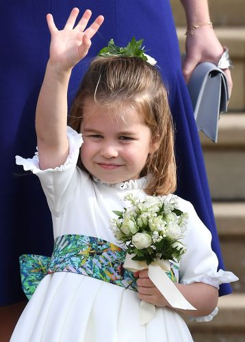 George And Charlotte Steal The Show At Princess Eugenie's Royal Wedding - See The Precious Pics!