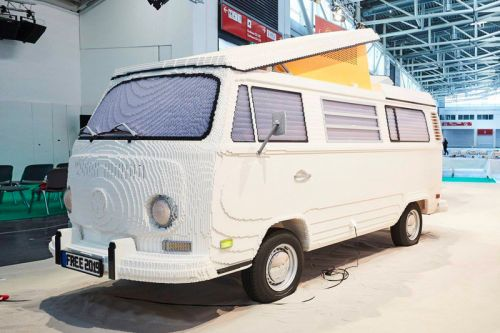 Check out This Full-Sized Volkswagen Type 2 Made Entirely out of LEGO