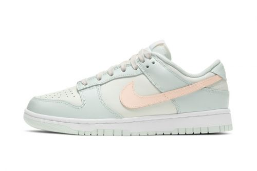"Pastel Shades Are Front and Center on the Nike Dunk Low ""Barely Green"""