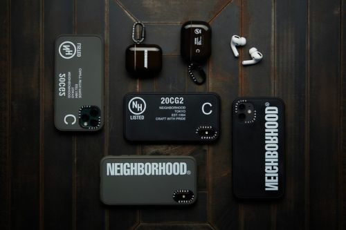 CASETiFY Taps NEIGHBORHOOD For its Latest Collab Collection