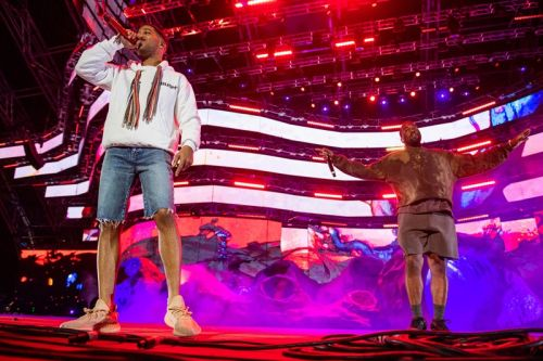 Kid Cudi Brings out Kanye to Perform 'Kids See Ghost' at Coachella