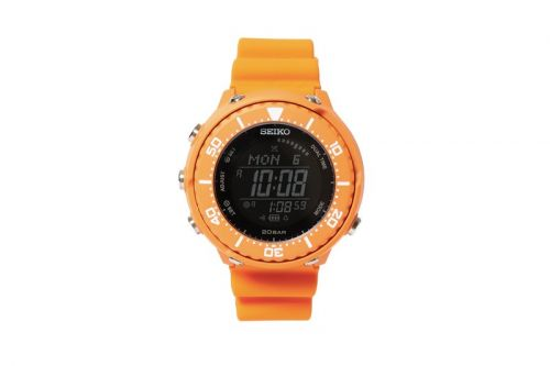 Seiko Prospex Taps BEAMS for Bright Orange Digital Fieldmaster
