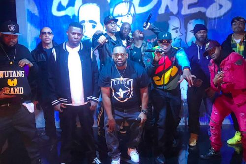"Wu-Tang Clan Assemble to Perform ""Protect Ya Neck"" & ""C.R.E.A.M."" on 'Jimmy Kimmel Live!'"