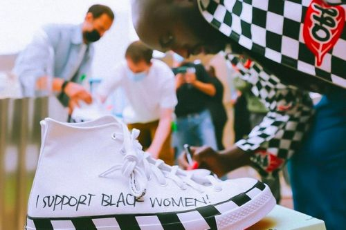 Virgil Abloh Giving Away Signed Off-White™ x Converse Chuck 70 HI for Charity