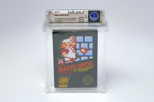 Rare 'Super Mario Bros.' Game Sells for Whopping $114,000 USD