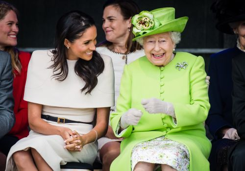 Meghan Markle Wore White Nail Polish to Meet the Queen