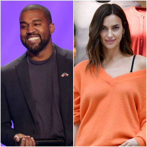 Kanye West and Model Irina Shayk Are 'Seeing' Where Things Go, Spotted on Romantic Stroll in France