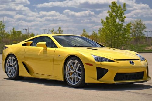 How Much Would You Pay for a 2012 Lexus LFA With Just 72 Miles?