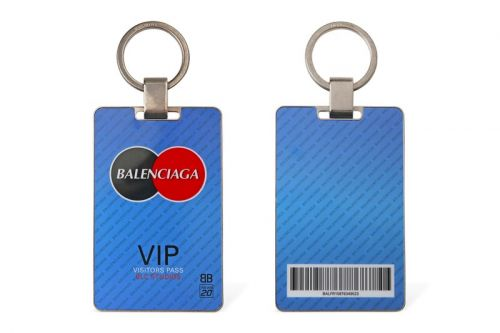 Balenciaga Gets Official With its Visitor Plate Key Holder