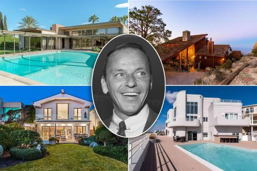 Frank Sinatra's historic homes: From NYC to Palm Desert