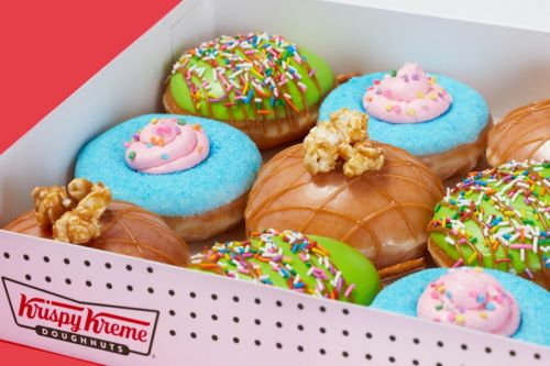 Krispy Kreme Places a Fun Twist to Carnival Treats With Its New Summer Release