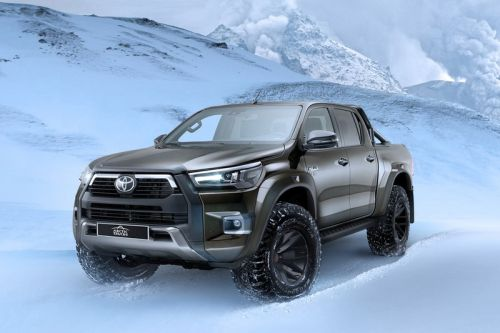 Arctic Trucks Joins Toyota for a Snowbound Hilux AT35
