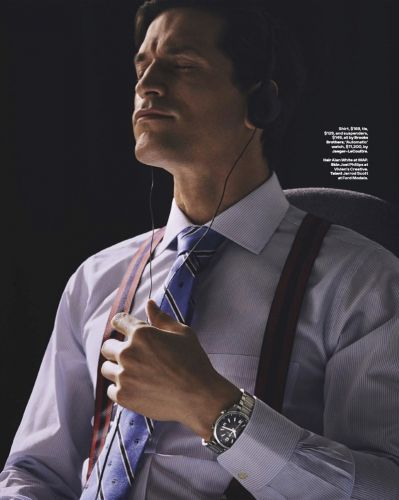 Jarrod Scott Channels Patrick Bateman for GQ Australia