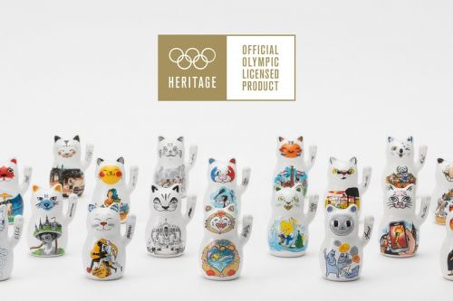 """Own A Piece of History In WAGTI's Olympic Heritage Collection """"2020 Lucky Cat Edition"""""""