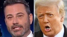 Jimmy Kimmel Shows How Trump Went Full 'Crazy Old Man' With Memorial Day Rant
