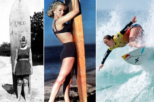 Why surfing is the sport of fearless women, movie stars and royalty