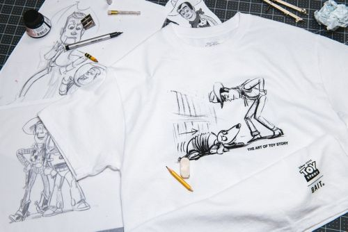 "BAIT Teams With Disney and Pixar on Hand-Drawn ""Toy Story"" Capsule"
