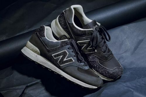 INVINCIBLE & New Balance's Collaborative 574 Features Alternating Hits of Hairy Suede