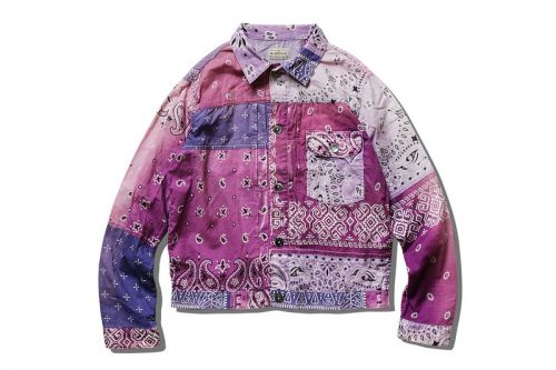 """KAPITAL Delivers New """"Bandana Patchwork"""" Jacket In Easter-Ready Hues"""