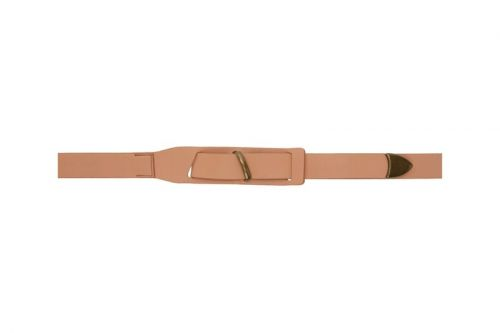 Robert Geller Drops SSENSE Exclusive Long Belts in Beige & Tan