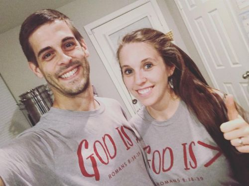 Jill Duggar Wears Sexy Red Dress to Husband Derick Dillard's Graduation: 'So Proud of My Man!'