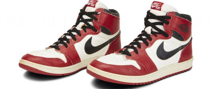 Michael Jordan's Rookie Sneakers and Other Basketball Legends on Auction at Sotheby's