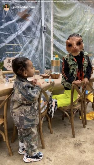 Saint West's ~Roaring~ Birthday Party Was All About Dinosaurs - See Photos of the Incredible Bash!